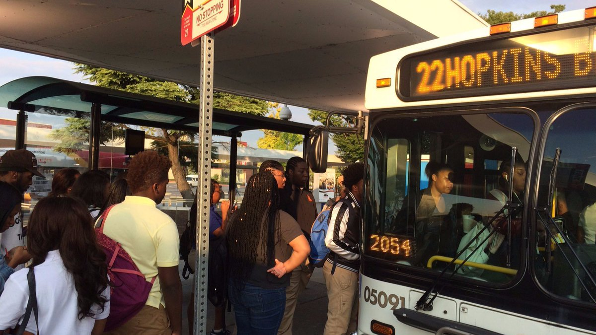 27,000 Baltimore students return to school on redesigned MTA bus routes