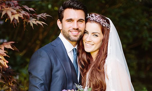 Exclusive! X Factor stars @luciejones1 and Ethan Boroian have married - all the details!