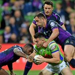 Jarrod Croker says Melbourne Storm milestones weren't a factor in Canberra Raiders' loss