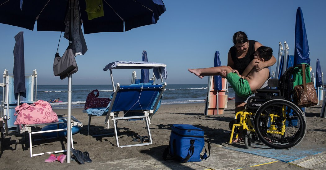 For Italians With Disabilities, a Place in the Sun