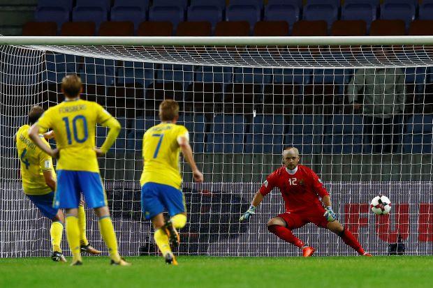 Sweden cruise to easy 4-0 win over Belarus