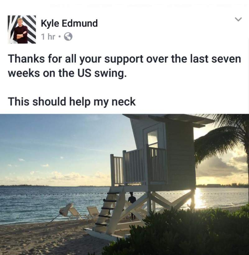 Meanwhile, in Kyle Edmund's world... �� https://t.co/GbkIgOs5q0 https://t.co/OyhkEW3gej