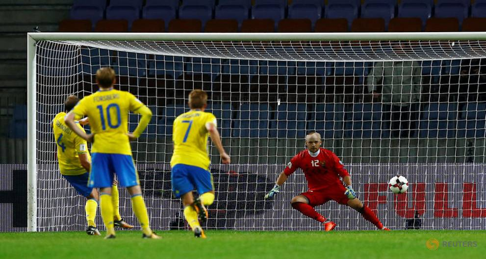 Sweden cruise to easy 4-0 win over Belarus