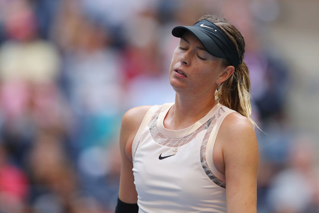 Here's the report on Maria Sharapova's exit from the #USOpen https://t.co/m3hzLxj1t4 https://t.co/440zodBtHH