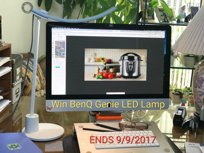 Smart BenQ Genie LED Lamp GA-1-US-Ends 9/9