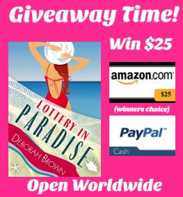 $25 Amazon/PP-1-WW-Lottery in Paradise-Deborah Brown-Ends 9/24