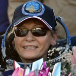 US record breaking astronaut Peggy Whitson returns to Earth