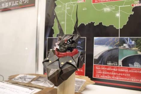 新宿ビームスジャパンでのワークショップは日曜で終わりましたが、クロムクロ胸像は今週の金曜まで展示しております。高岡の金属
