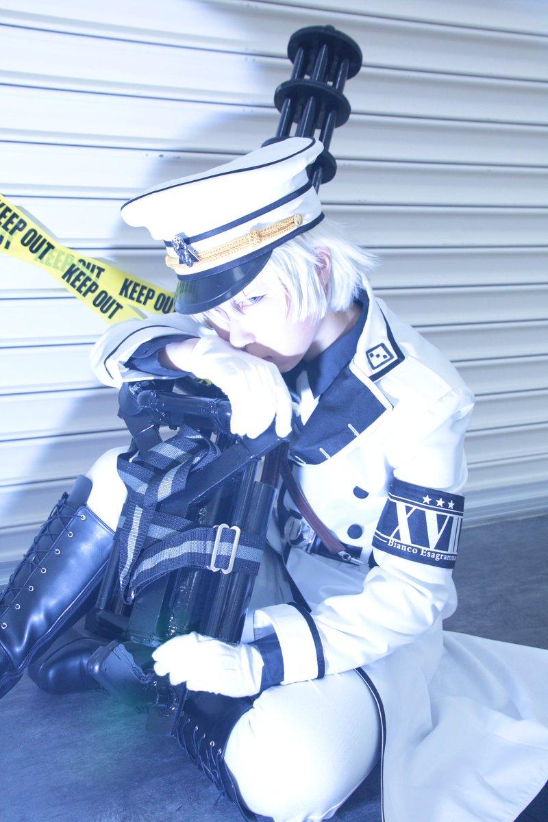 【青春×機関銃  藤本高虎】※コス撮ったまま。12巻限定版表紙風。撮影者いわく、目が良いそうです。Photo→がこしゃん