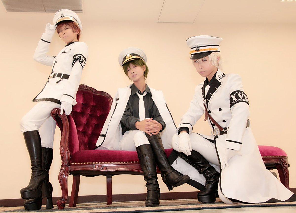 【青春×機関銃  ホシシロ】コスホシシロ男性陣揃った。赤羽さぁぁぁぁんっ!!どこっスかー!!そして、恒例のお仕置きスタイ