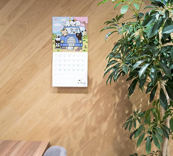 「タマ&フレンズ〜うちのタマ知りませんか?」2018年のカレンダーが発売されました!イラストいっぱいのタマ&フレ