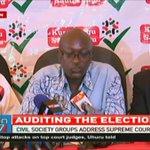 Civil Society reprimands President Uhuru Kenyatta over attack on the Judiciary