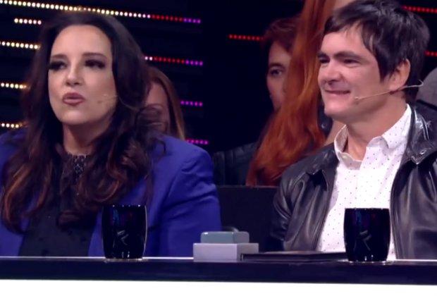 """Ana Rosa. Foto do site da RD1 que mostra Ana Carolina e Samuel Rosa roubam a cena na semifinal do """"PopStar"""" confira os finalistas"""