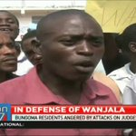 Bungoma residents angered by presidents attacks on judges