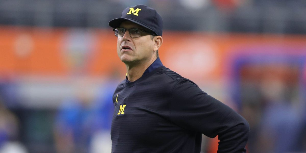 Michigan football news conference live coverage: What Harbaugh says