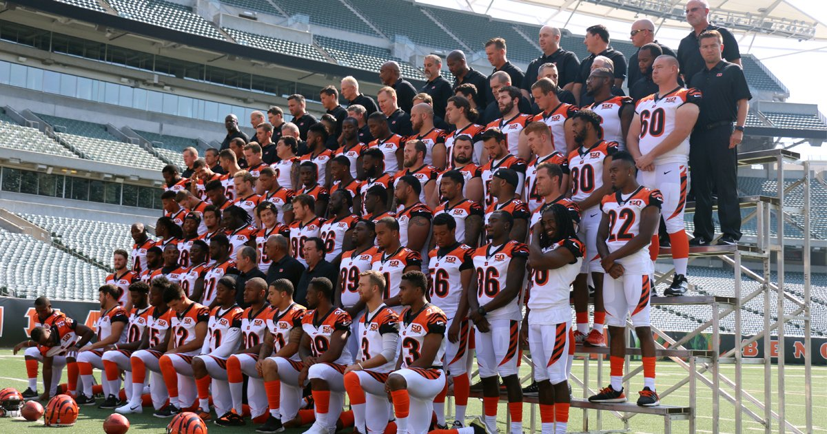 Not just a team.  A family.  #Bengals50  Let's make Season 50 something special.  ��: https://t.co/VNy7uvoBfk https://t.co/8jWHs8YR5s