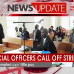 Judicial officers call off strike