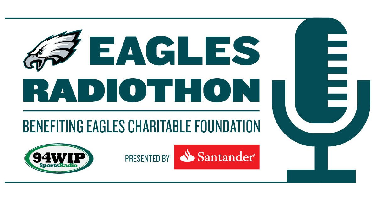The 2017 #EaglesRadiothon presented by @SantanderBankUS begins now!  Bid: https://t.co/XXzxEyAebi https://t.co/vFJc7UDJLA