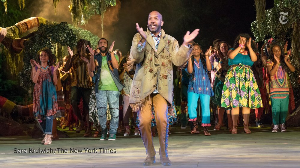 A new musical adaptation of 'As You Like It' in Central Park is an NYT Critic's Pick https://t.co/anyAumJ8WS https://t.co/AvpAMdFa3N