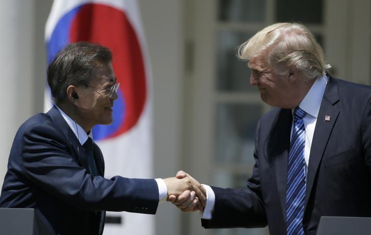 Trump says to approve lifting restrictions on South Korea missile payload limits