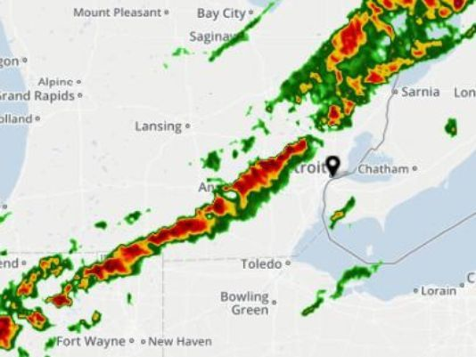 Severe thunderstorms, hail possible in Metro Detroit