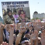 Tens of thousands rally in Grozny to protest 'genocide' of Rohingya Muslims in Myanmar