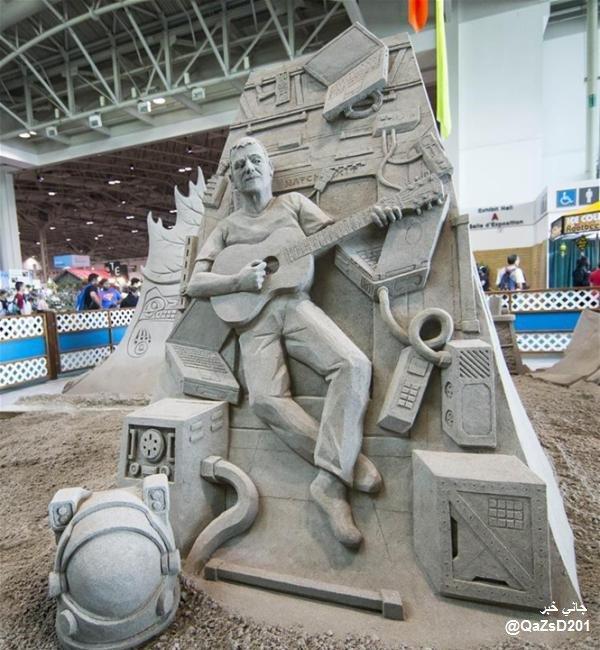 مسابقة الرمال بمدينة #تورونتو