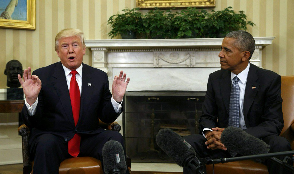 Obama won't sit idly by if Pres. Trump ends DACA, according to a report