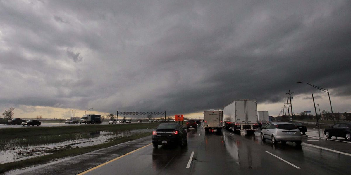 High wind gusts, hail and flooding may be heading to metro Detroit