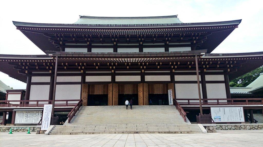 やって来たのは大学生の時以来。こうやって見るとデカイお寺だなぁ。(^_^;)(そう言えば「げんしけん」・グッチ―の地元と