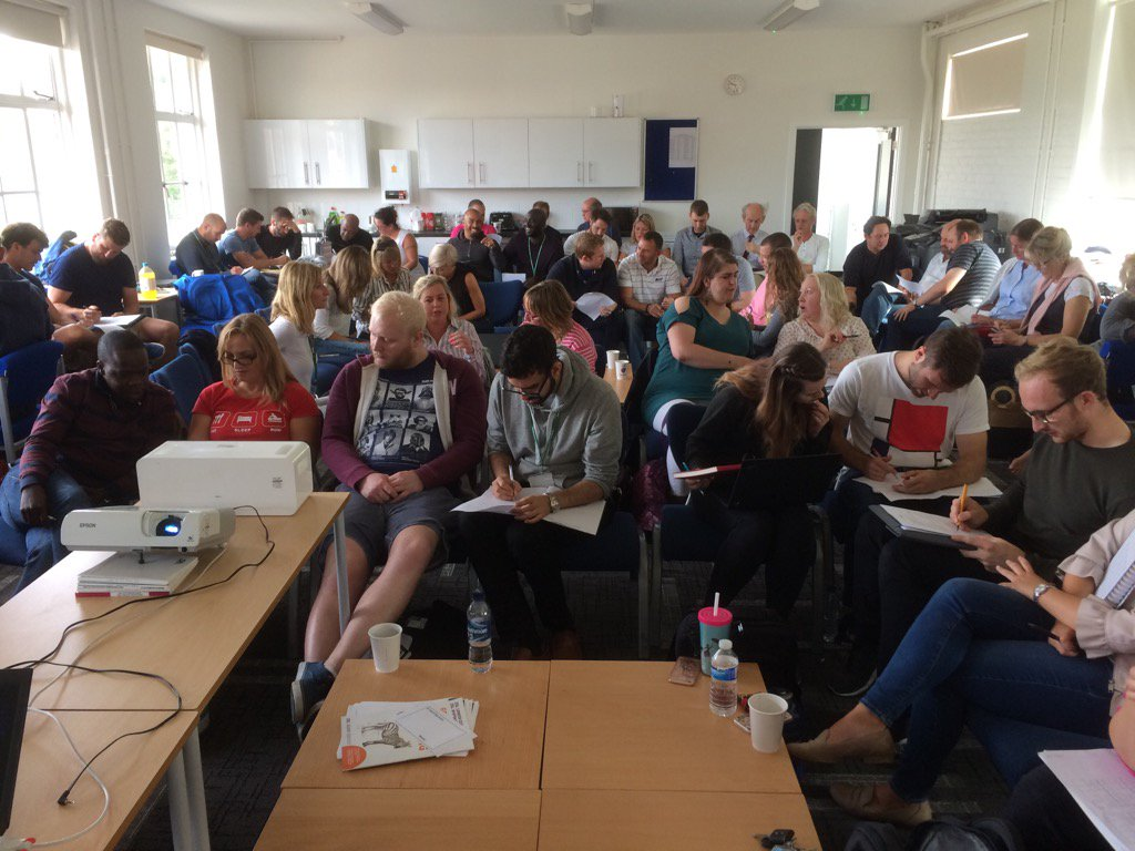 test Twitter Media - Our refreshed staff hard at it in two days of INSET before the start of term. The staffroom is buzzing with energy! https://t.co/wTZqcvmMJN