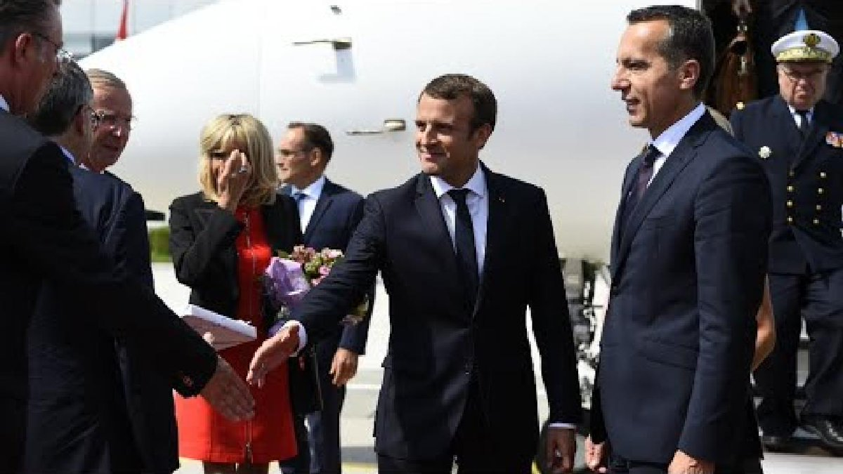 ?? Macron pushes EU labour rule changes on central Europe tour