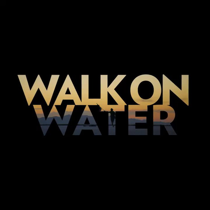 MARS IS HERE. Watch the official Lyric Video for #WalkOnWater, now available everywhere: https://t.co/OLulMuK76H https://t.co/yiAypWduv8
