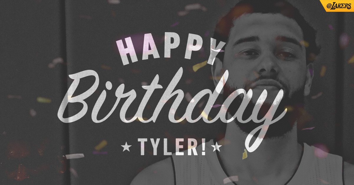 23 years young. Happy birthday, Tyler!! https://t.co/cj7H21nTB3