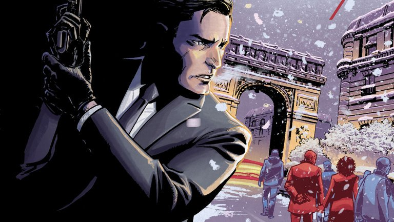 James Bond is taking on Russia in 'Solstice' comic book