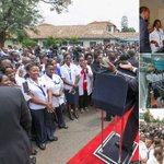 President Kenyatta launches cancer treatment center at KNH