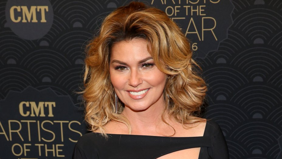 ".@ShaniaTwain reveals why she used Brad Pitt's name in ""That Don't Impress Me Much"""