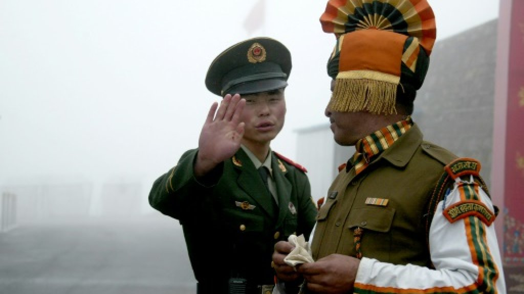 China slams reported Indian road project on border