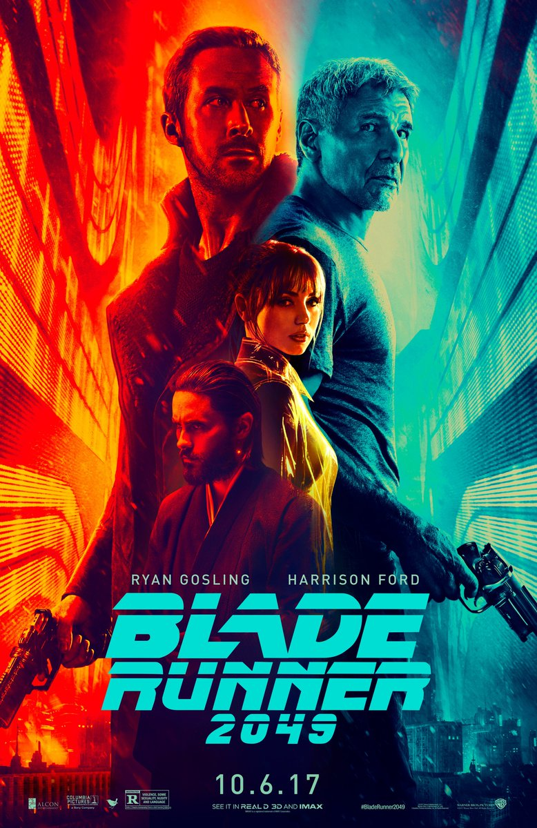 The new @bladerunner poster is here!!! Are you ready??