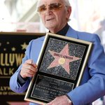French singer Charles Aznavour gets Hollywood star at age 93