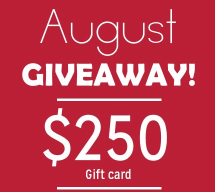 August Dream Giveaway