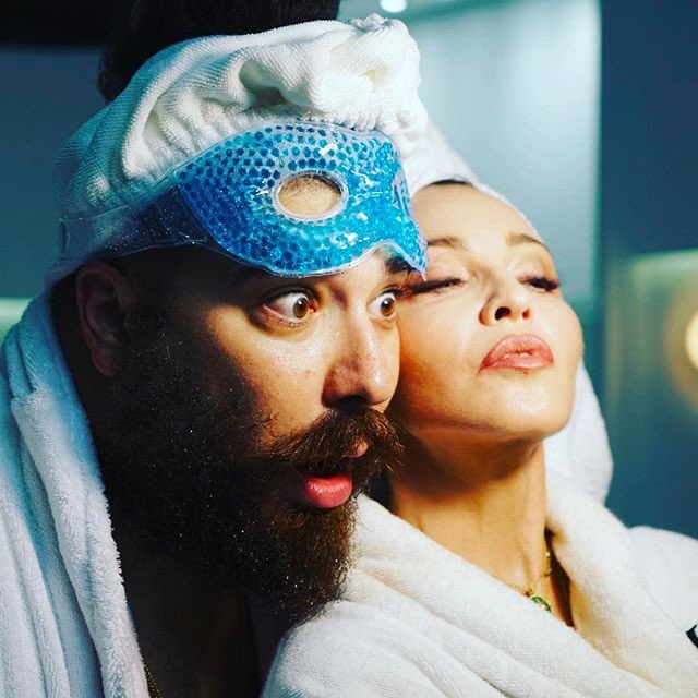 Giving good face with #thefatjewish on the set!! For @mdnaskin https://t.co/6WCA6jbhHf