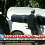 EACC arrests two traffic police officers in Kisii