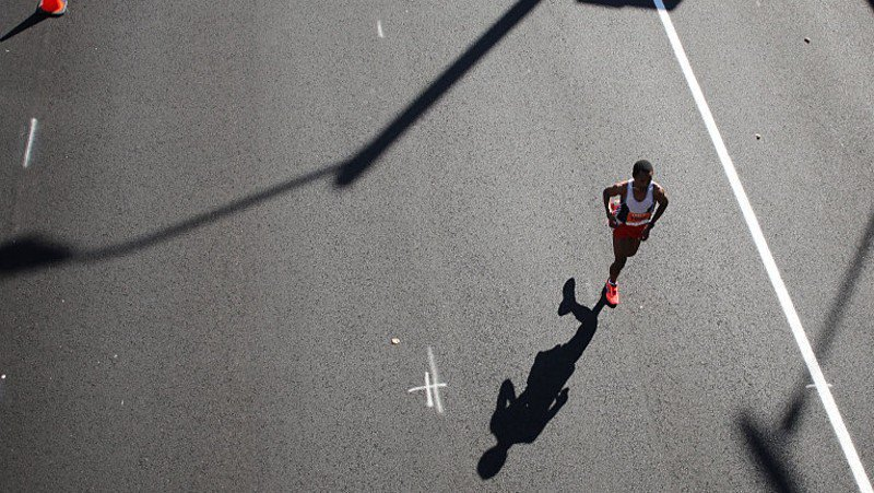 Colorado boy sets world record in half marathon for his age