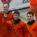 and Chinese astronauts train together