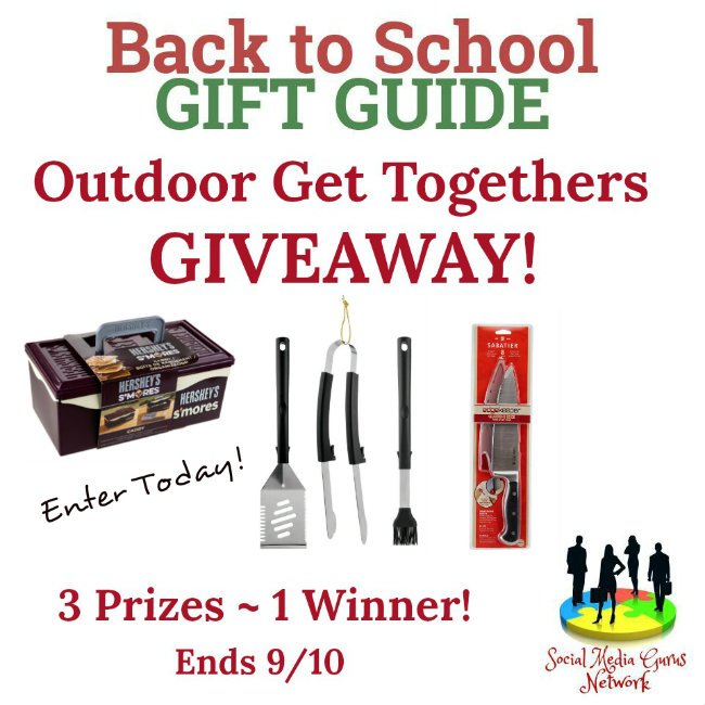 Outdoor Get Togethers Giveaway