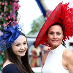 High fashion stakes at Ladies Day at the Ebor Festival, York Racecourse