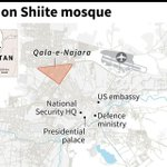 Suicide bomber attacks Shiite mosque in Kabul: police