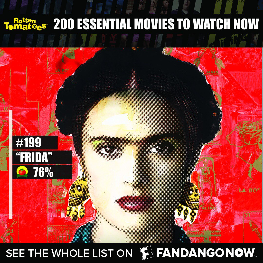 Are you a film buff?  Have you seen all of @RottenTomatoes 200 Essential Films? #CertifiedFresh Only at @FandangoNOW https://t.co/7cqBPP5ZTT https://t.co/7yXQezAQTr