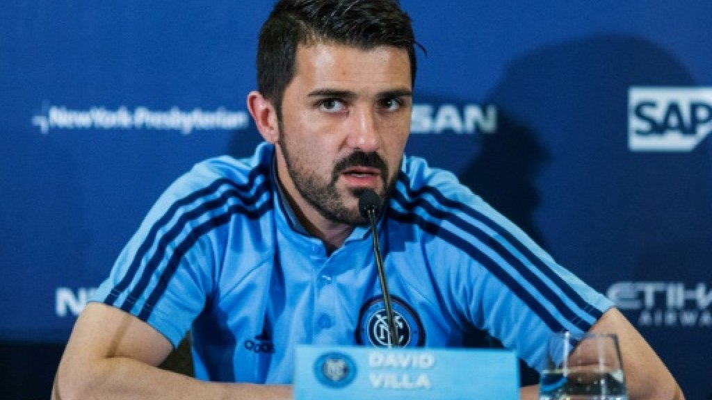 David Villa back for Spain World Cup qualifiers